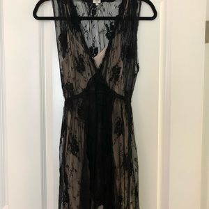 Wilfred Silk and Lace Dress